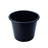 Q-Connect Black 15 Litre Waste Bin