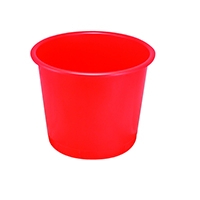 Q-Connect Red 15 Litre Waste Bin