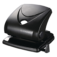 Q-Connect Std Duty Hole Punch Black 827P