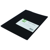 Q-Connect 10 Pocket Black Display Book
