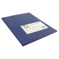 Q-Connect 20 Pocket Blue Display Book
