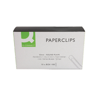 Q-Connect 32mm Plain Paperclip Pk1000