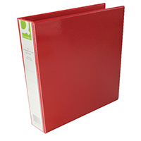 Q-Connect Red A4 Pres 4DRing Binder 40mm