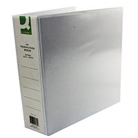 Q-Connect 65mm A4 White 4D-Ring Binder