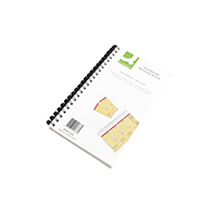 Q-Connect Telephone Message Book S/Stick