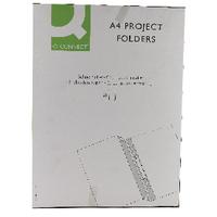 Q-Connect A4 Blue Project Folder Pk25
