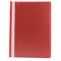 Q-Connect A4 Red Project Folder Pk25