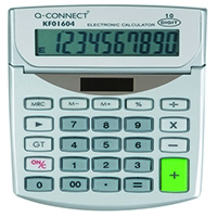 Q-Connect Semi Desktop Calc 10Digit