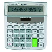 Q-Connect Desktop Calculator 12Digit