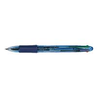 Q-Connect 4 Colour Ball Point Pen Pk10