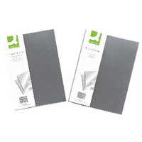 Q-Connect Clear Binding Folder Pk10