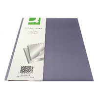 Q-Connect Clear Binding Folder Pk20