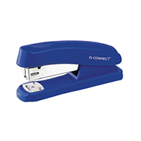 Q-Connect Blue Half Strip Stapler
