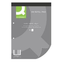 Q-Connect Refill A4 Pad Plain 80Lf Pk10