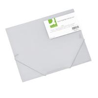 Q-Connect A4 Clear Elasticated Folio