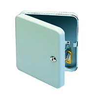 Q-Connect 20-Key Cabinet Pearl Grey