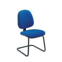 FF Jemini Medium Back Visitor Chair Blue