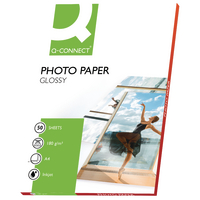 Q-Connect Photo Paper A4 Glossy Inkjet
