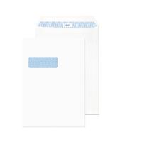 Q-Connect White C4 Wndw P/Seal Env Pk250