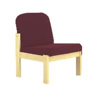 FF Arista Recept Seat Bch Veneer Claret
