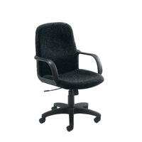 FF Jemini Manager Star Leg Chair Charc