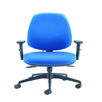 FF Cappela High Back Posture Chair Blue