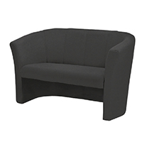 FF Jemini 2 Seat Fabric Tub Charcoal