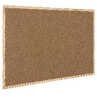 Q-Connect 400x600mm Cork Board Wdn/Frame