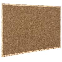 Q-Connect 600x900mm Cork Board Wdn/Frame