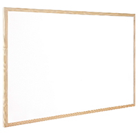 Q-Connect 400x300mm Whiteboard Wd/Frame