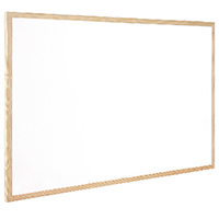 Q-Connect 600x400mm Whiteboard Wd/Frame