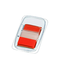 Q-Connect Red 1 inch Page Marker Pk50