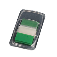 Q-Connect Green 1 inch Page Marker Pk50