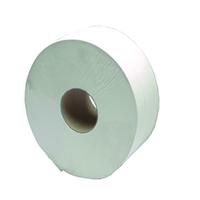 2Work Jumbo Toilet Roll 2 Ply /Pk 6