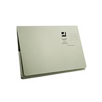 Q-Connect Green Long Flap Wallet Pk50