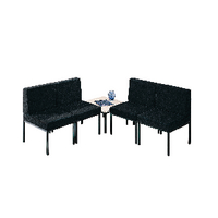 FF Jemini Reception Chair Charcoal
