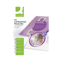 Q-Connect A3 Laminating Pouch 125mic P25