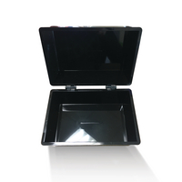 Q-Connect 6x4in Black Card Index Box
