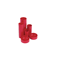 Q-Connect Red Tube Desk Tidy