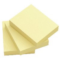 Q-Connect Yellow 51x76 Quick Notes Pk12