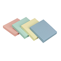 Q-Connect Rainbow Quick Note 76x76mm P12