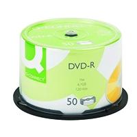 Q-Connect DVD-R 4.7GB Cake Box Pk50