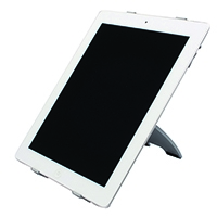 Q-Connect Silver iPad Stand