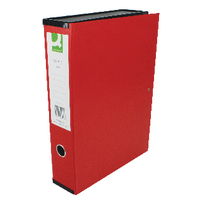 Q-Connect Red Box File - Pk5