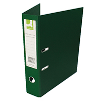 Q-Connect Fc Green Lever Arch File Pk10
