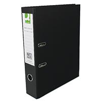 Q-Connect Black P/Brd FC Lever Arch Pk10