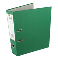 Q-Connect Green FC Lever Arch File Pk10