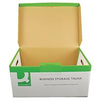 Q-Connect Business Storage Trunk Pk10
