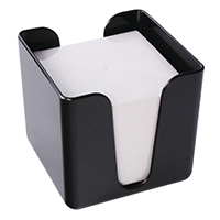 Q-Connect Black Memo/Jot Box