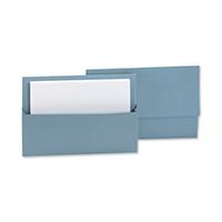 Q-Connect Blue Document Wallet 285g Pk50